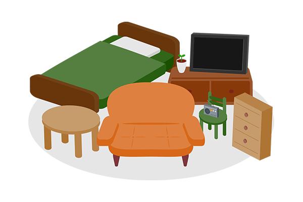 家具の設置・組み立て